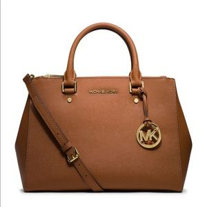 Michael Kors Sutton Leather Satchel Bag 30S4GTVS6L